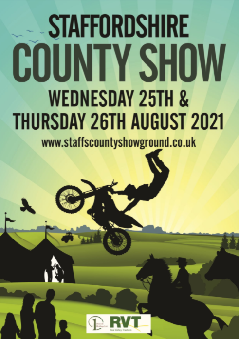 Come And See Us At The Staffordshire County Show 2021!
